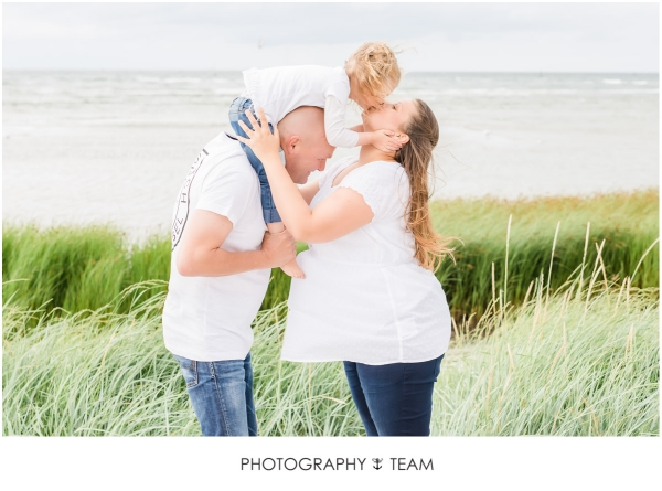 Babybauch, Baby- und Familien-Fotos