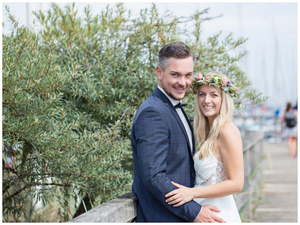 Brautpaar-Portraits in Grömitz