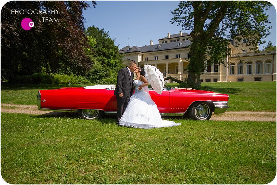 Hochzeitsfotografie im Schlosspark