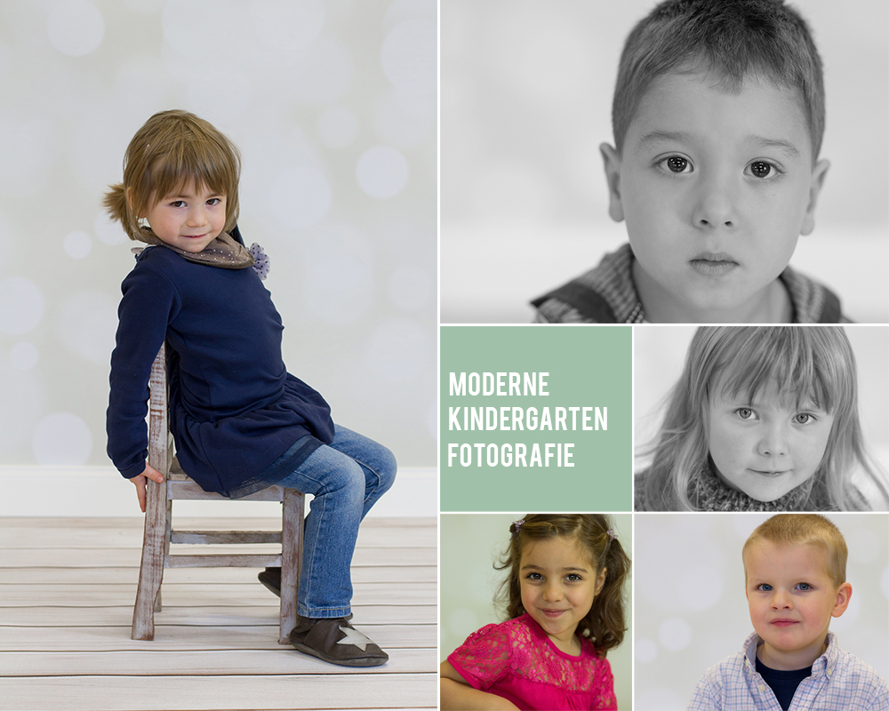 moderne Kindergartenfotografie
