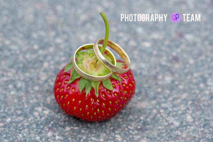 Eheringe Erdbeere