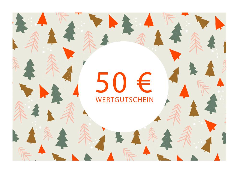 Wertgutschein 50 Euro klein