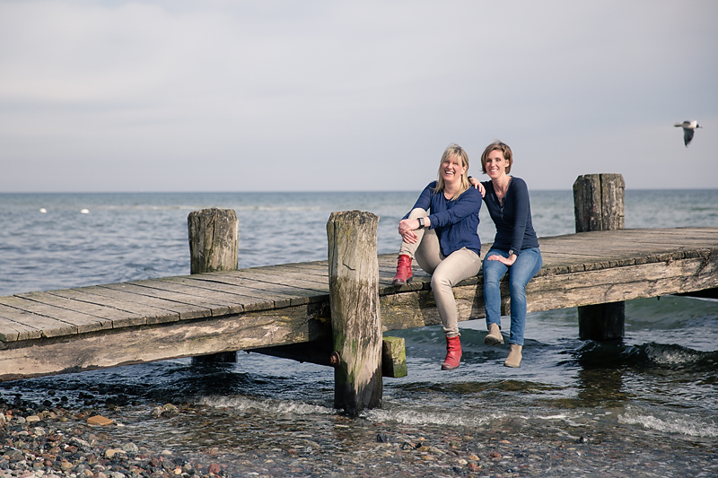 Hochzeitsfotografie Team an der Ostsee
