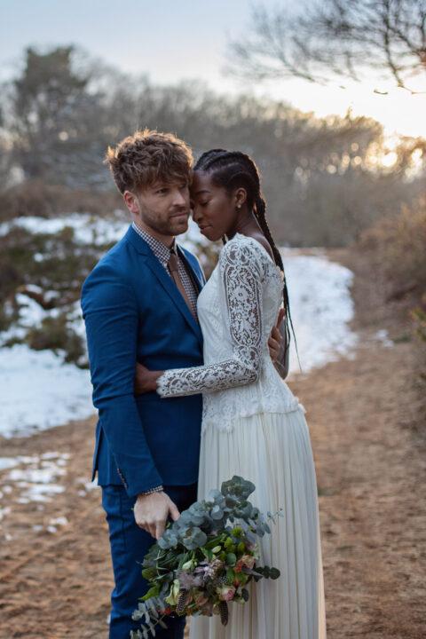 Hochzeitsfotografie in der Heide