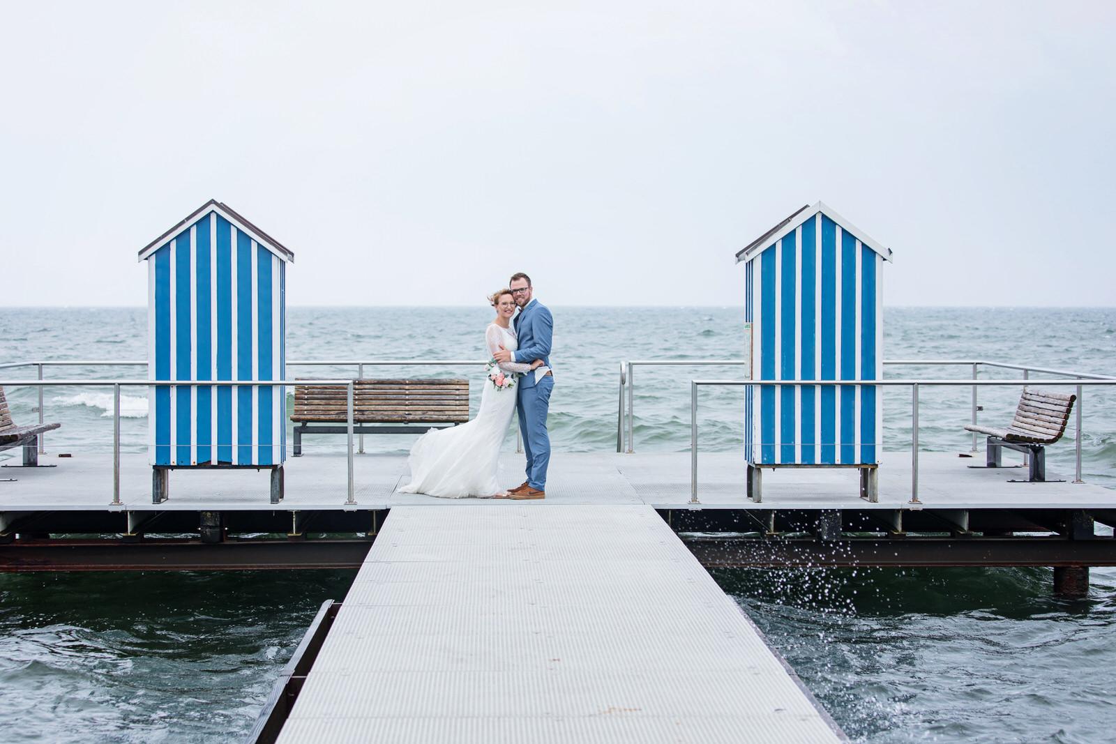 Hochzeitsfotos an der Ostsee