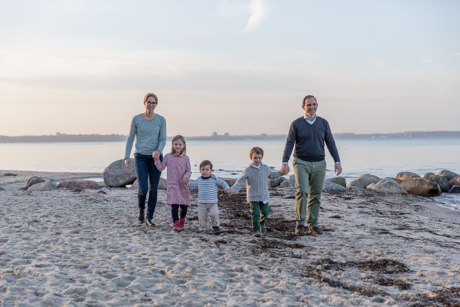 Familien-Shooting am Strand